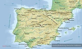 iber ische halbinsel Garmin tarjeta Topo 4 GB España Portugal Francia Mallorca, Menorca Ibiza Mapa Topográfico de tiempo libre bicicleta Senderismo Excursiones Senderismo Geocaching dispositivos de navegación Pc & Mac: Amazon.es: Electrónica