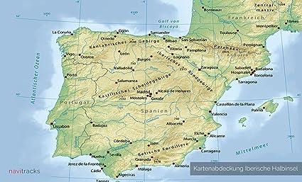 Iberische Halbinsel Garmin Karte Topo 4 Gb Spanien Portugal