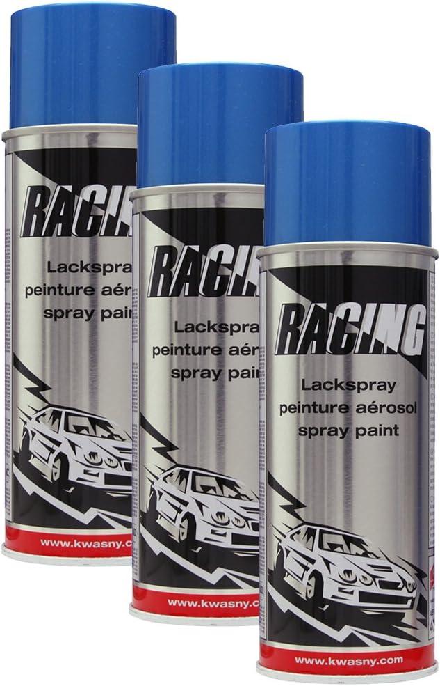 3 X Kwasny 288 112 Auto K Racing Spray Paint Blue Metallic 400 Ml Auto