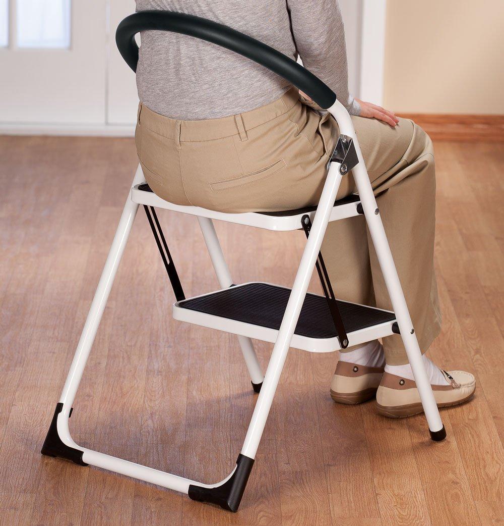 & Amazon.com: EasyComforts Step Ladder Stool Combo: Kitchen u0026 Dining islam-shia.org
