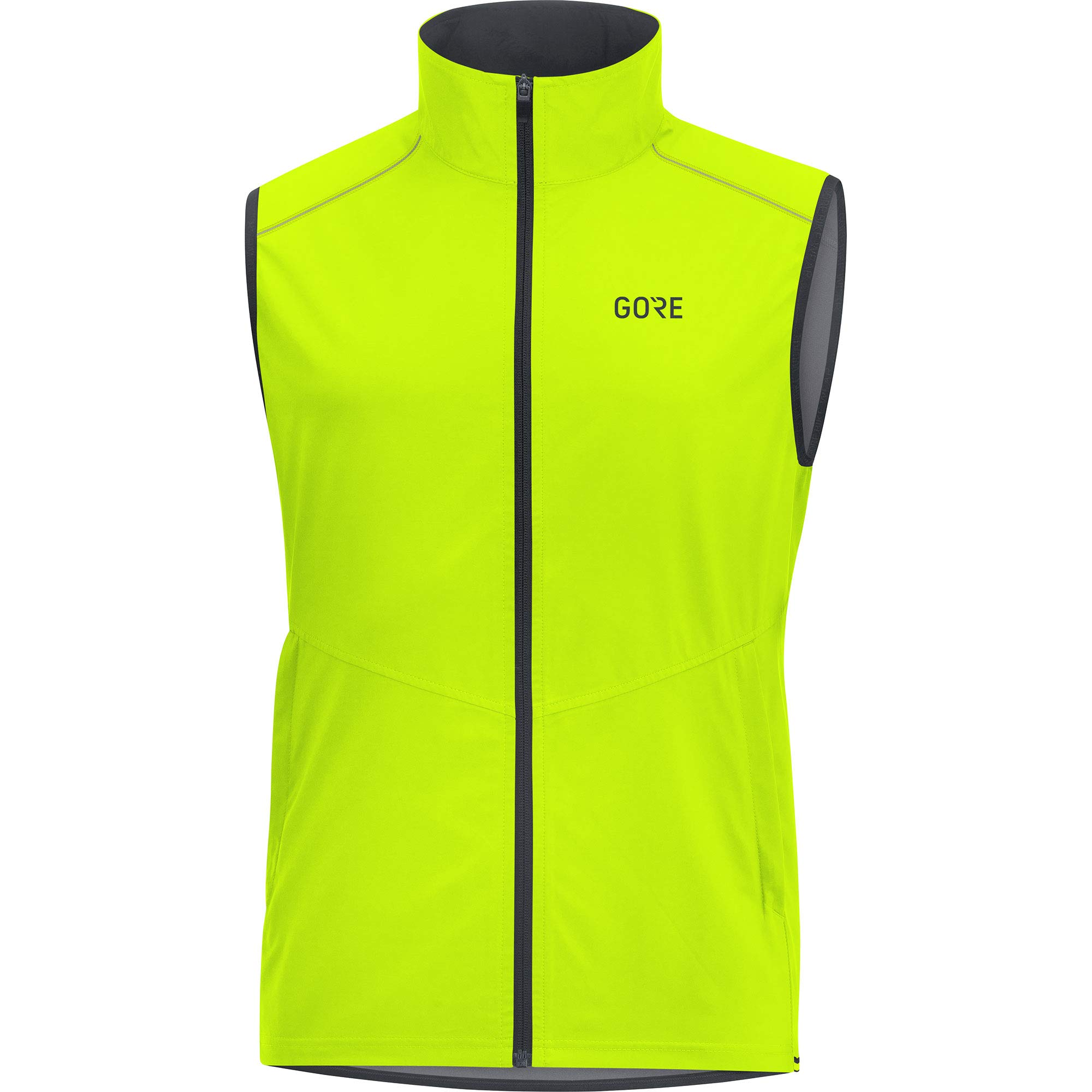 Gore Men's R3 Gws Vest,  neon yellow,  L by GORE WEAR (Image #1)
