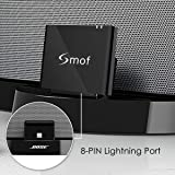 Smof 8 Pin Bluetooth Adapter, Replacement for Bose Sounddock Bluetooth Receiver, Designed for Bose Link iPhone/Android