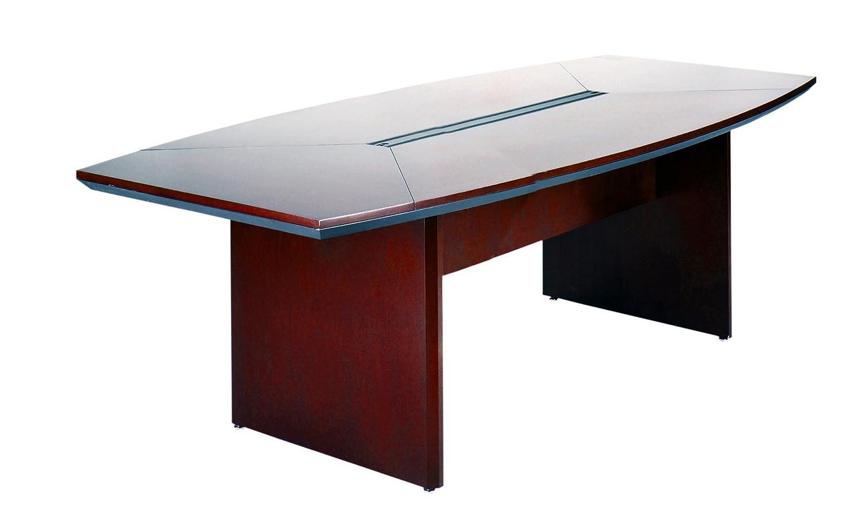 Amazoncom Mayline CTCMAH Napoli W X D BoatShaped - Hon boat shaped conference table