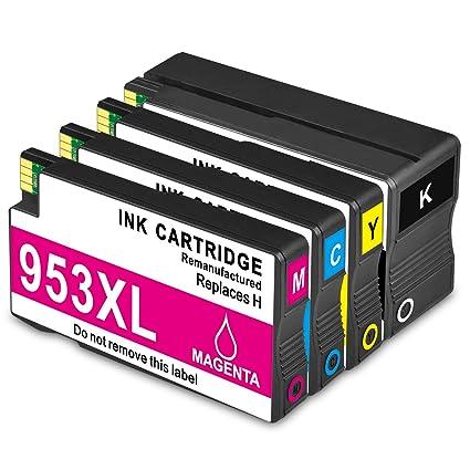 jagute Cartuchos de impresora Repuestos para HP 953 X L para HP ...