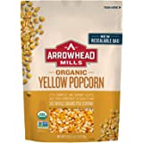 Arrowhead Mills Organic Yellow Popcorn Kernels, 28 Ounce Bag (Pack of 6)