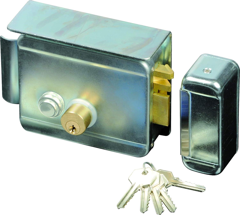 SCS SEN4131198 - Cerradura eléctrica (con pulsador en el interior ...
