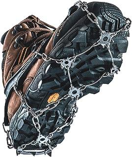 Naturehike Crampons Anti-Glisse Crampons pour Chaussures de Sport, Chaussures de randonnée, Chaussures d'alpinisme Chaussures de randonnée Chaussures d'alpinisme (L)