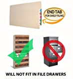 14 pt Manila Folders, Full Cut 2-Ply End