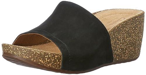 7a7a3bd2e46 Clarks Women s Temira North Black Fashion Sandals - 6 UK India (39.5 ...
