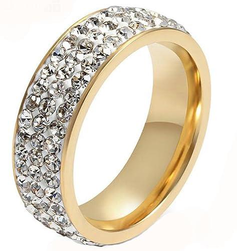 Unisex-anillo acero inoxidable pegado CZ Canal polaco de alianzas de boda ajuste cómodo de
