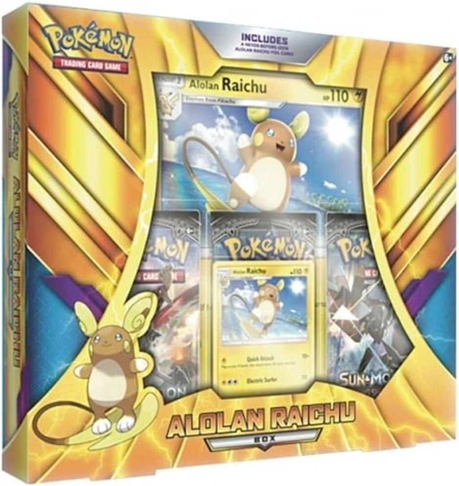 PoKéMoN Alolan Raichu Box-Caja (POC490): Amazon.es: Juguetes y juegos