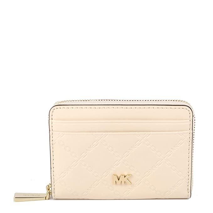 MICHAEL by Michael Kors Money Pieces Light Cream cartera de ...
