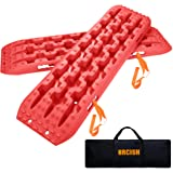 House Deals Recovery Traction Tracks for 4WD Sand Mud Snow Off Road Heavy Duty Reinforced Plastic Construction