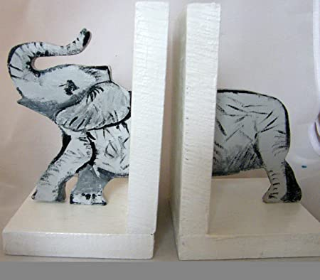 Pair of handmade pretty and practical double sided elephant