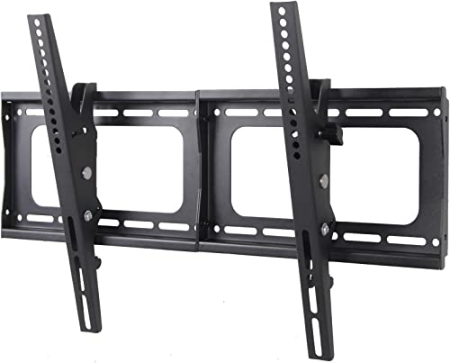 Husky Mount TV Bracket Fits Most 32 39 40 42 46 47 50 52 55 60 65 70 72 Inch LED LCD Plasma Flat Screen Up to VESA 600X400 Tilting Heavy Duty TV Wall Mount Loads 132 LBS