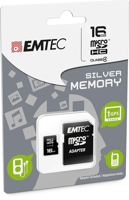 Tarjeta de memoria 16 GB para Nikon Df - Micro SD clase 4 + ...