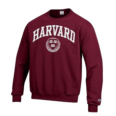 Amazon.com   Shop College Wear Harvard Crimson Men s Champion Crew ... 0cfbf4036bb6