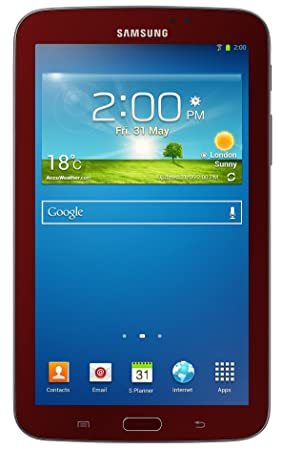 Samsung Galaxy Tab 3 7.0 8GB Rojo - Tablet (Phablet, Android ...
