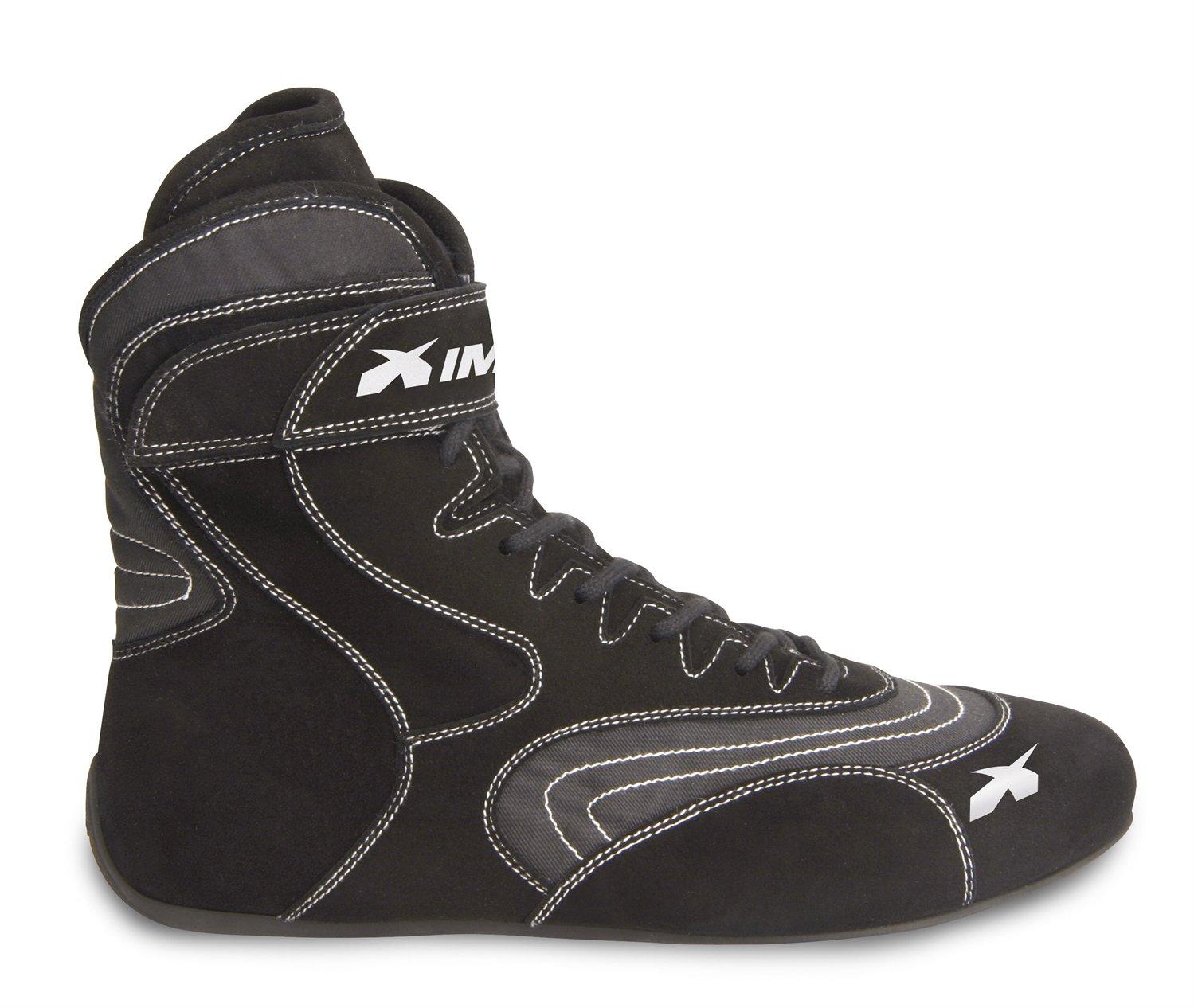 Alpha SFI 3.3//5 Black, 11.5 Impact Racing Mens Shoe