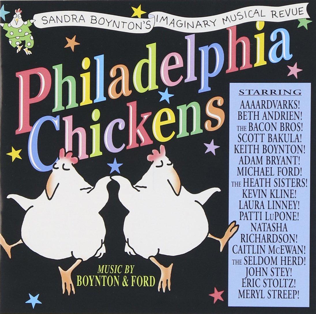 Philadelphia Chickens by BOYNTON,SANDRA