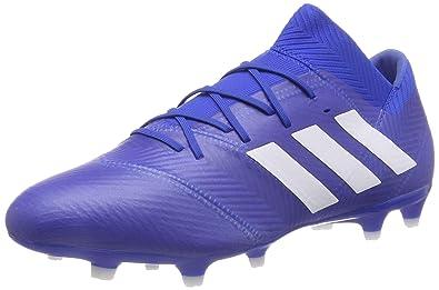 best service c86c2 6cc3c adidas Herren Nemeziz 18.2 Fg Fußballschuhe, Blau Ftwbla Fooblu 001, 39 1