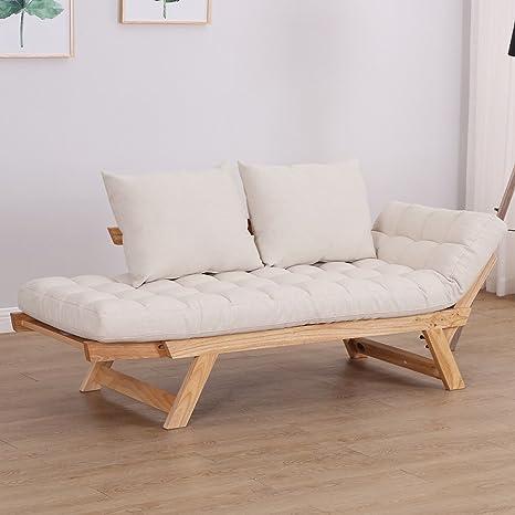 Amazon.com: Sofa Bed Futon Couch Sleeper Lounge Convertible ...