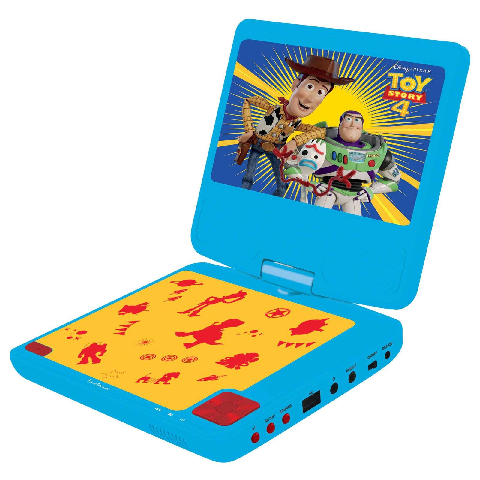 Toy Story 4 Portable DVD Player by Toy Story (Image #1)