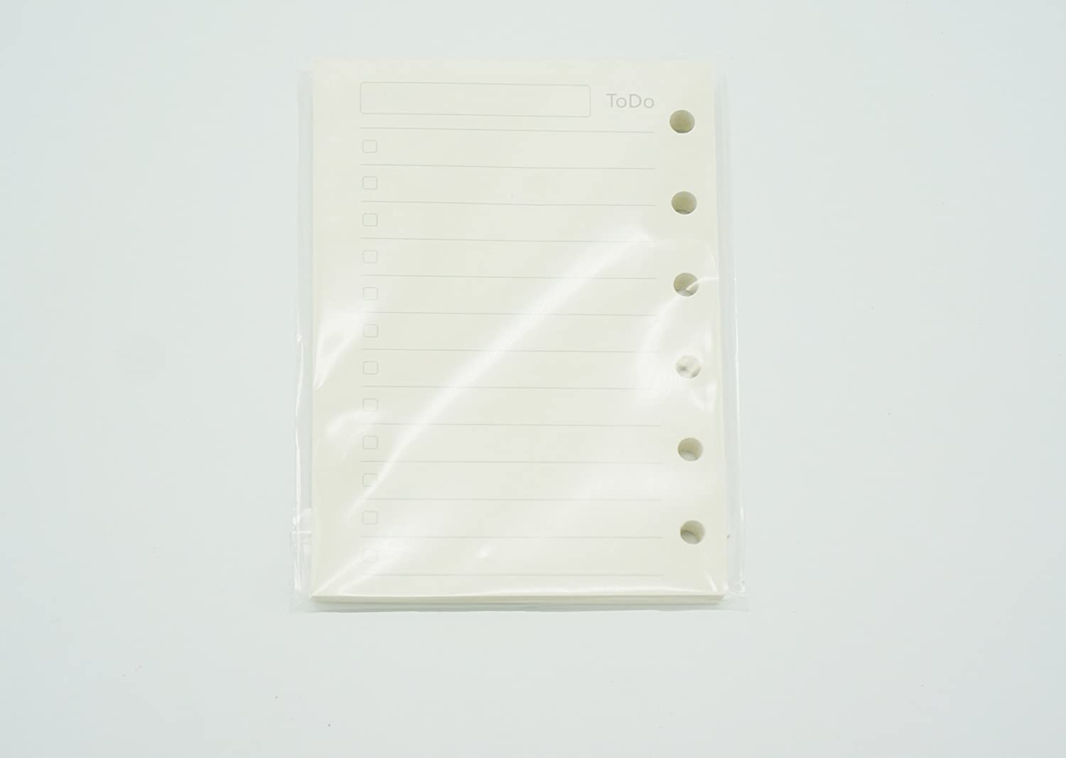 80 sheets//160 Pages Grid Harphia Dot Blank Paper,4.84 x 3.23 Planner Refill Line A7 Notebook Refill