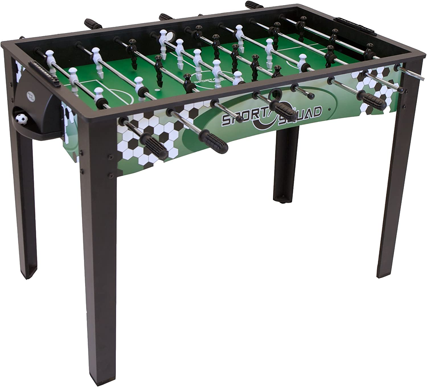 Amazon Com Sport Squad Fx48 48 Foosball Table For Adults And Kids Arcade Table Soccer Game For The Basement Or Game Room Quick And Easy Assembly Manual Scorers