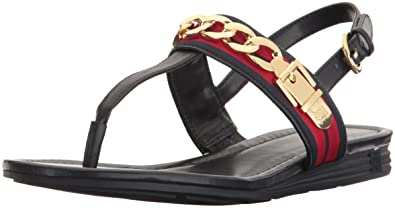 26ca8a18cb8667 Tommy Hilfiger Women s Hakim Flat Sandal: Buy Online at Low Prices ...
