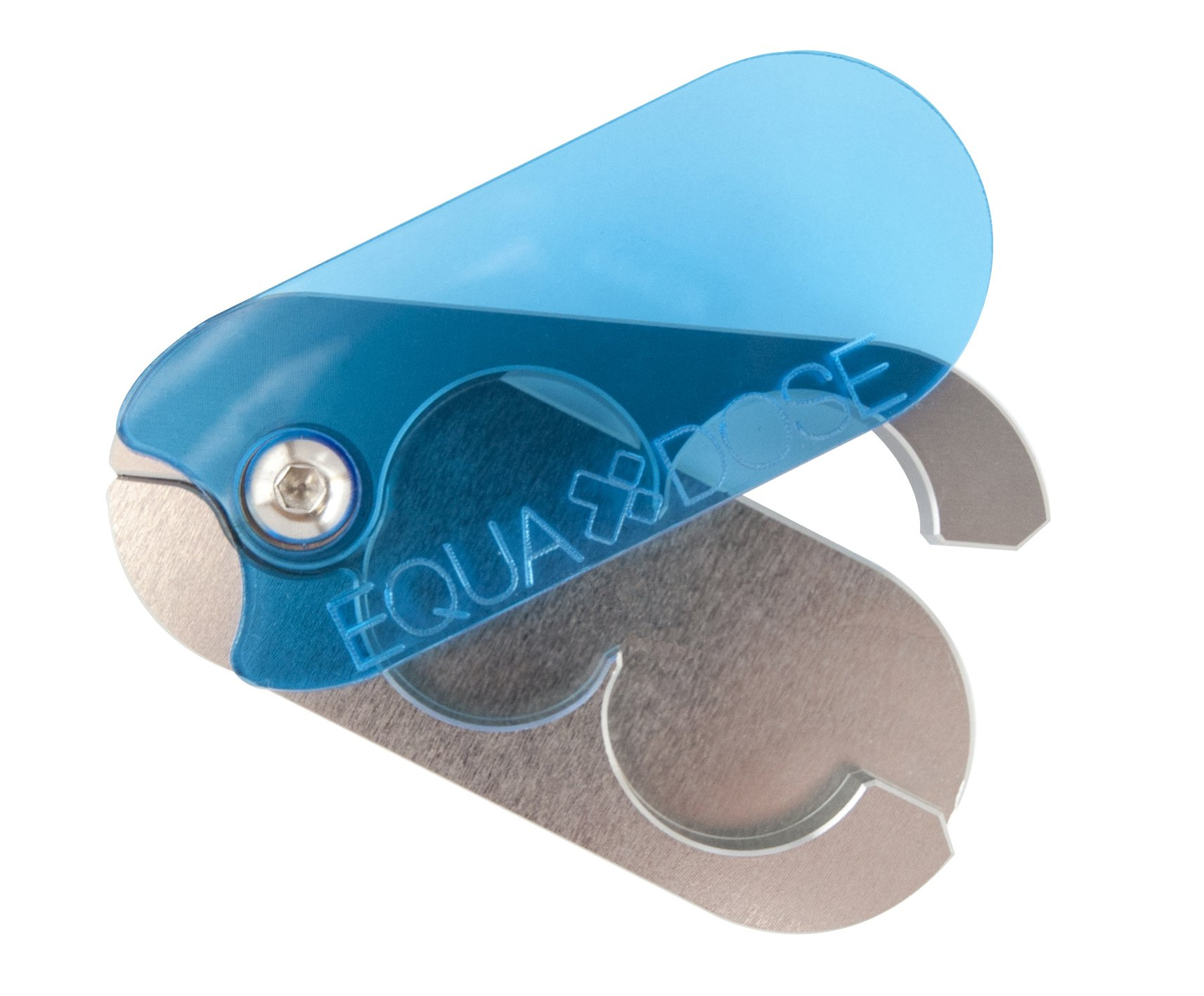 The Equadose Pill Splitter. The Best Pill Cutter Ever! Crafted in The USA. Doubles as a Pill Box. Great for Pets Too! by EQUADOSE