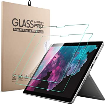 IVSO Templado Protector para Microsoft Surface Pro 6 12.3, Premium ...