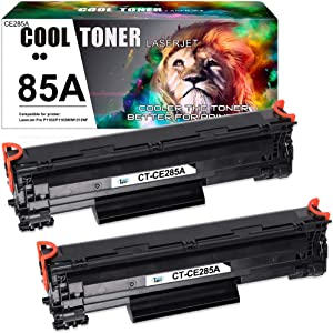 Cool Toner Compatible Toner Cartridge Replacement for HP 85A CE285A P1102w for HP LaserJet P1102w M1212nf HP LaserJet Pro P1100 P1102 P1102w M1212nf M1217nfw M1132 Ink Toner Printer (2 Packs-Black)