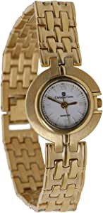 Christian Geen Analog Watch For Women - Stainless Steel, Bronze - 3186Lbs-Wh