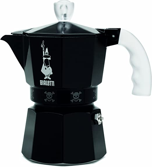 Bialetti 4451 - Cafetera Italiana, Color Negro: Amazon.es: Hogar