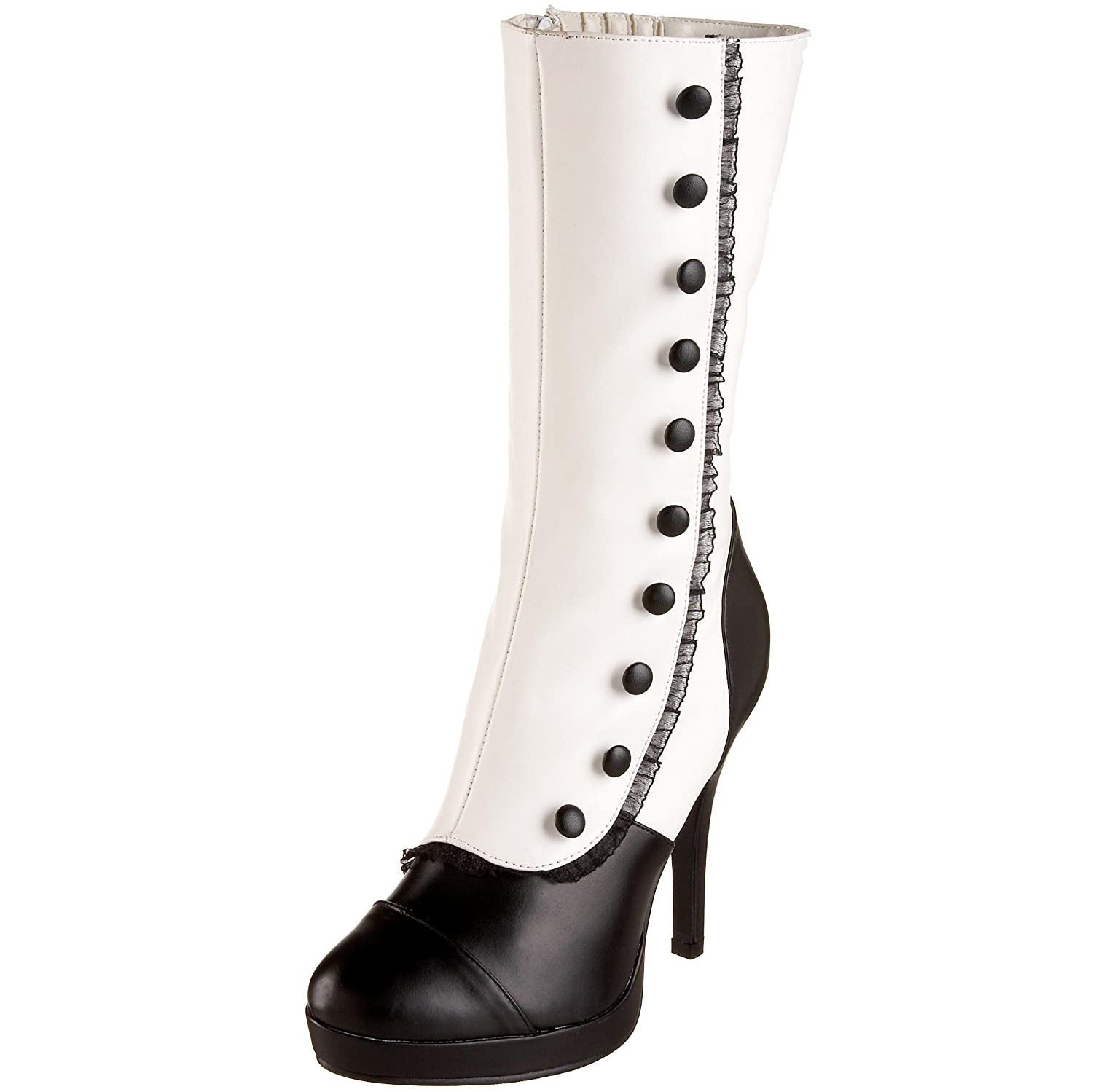 Steampunk Boots & Shoes, Heels & Flats Womens Splendor-130 Mid-Calf Boot $126.63 AT vintagedancer.com