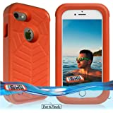 Temdan iPhone 7 / 6s / 6 Floating Case with a 0.2mm clear&thin Waterproof Bag Shockproof Lifejacket Case for iPhone 7 / 6s / 6 (4.7inch) -Orange