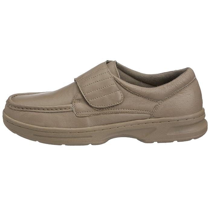 ... piel con Dr Keller de ropa de cama de Velcro vertical vestir comodidad zapatos de forma elegante con un para oficina camiseta de - Ubershoes (10, mango ...