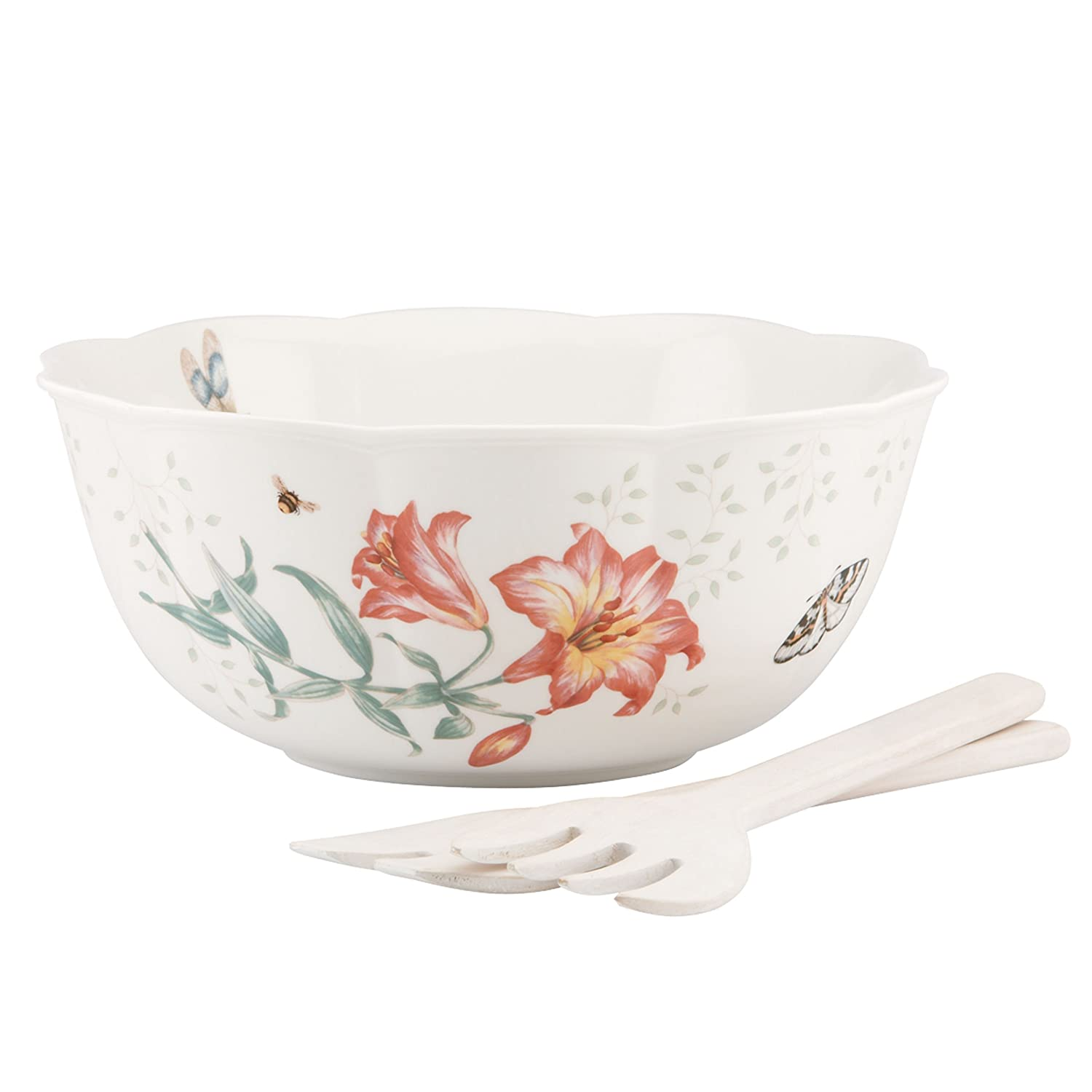 Lenox Butterfly Meadow Square Covered Casserole, 2 piece 855622