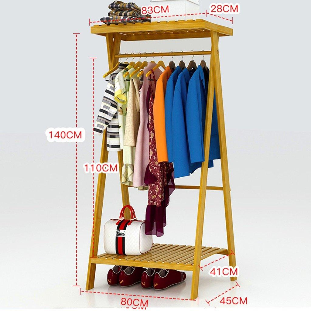Meters ハンガー、床寝室ラックシンプルな服のラック単線の家庭経済タイプのラック多機能 ( サイズ さいず : 80センチメートル ) B078W76F9Q  80センチメートル