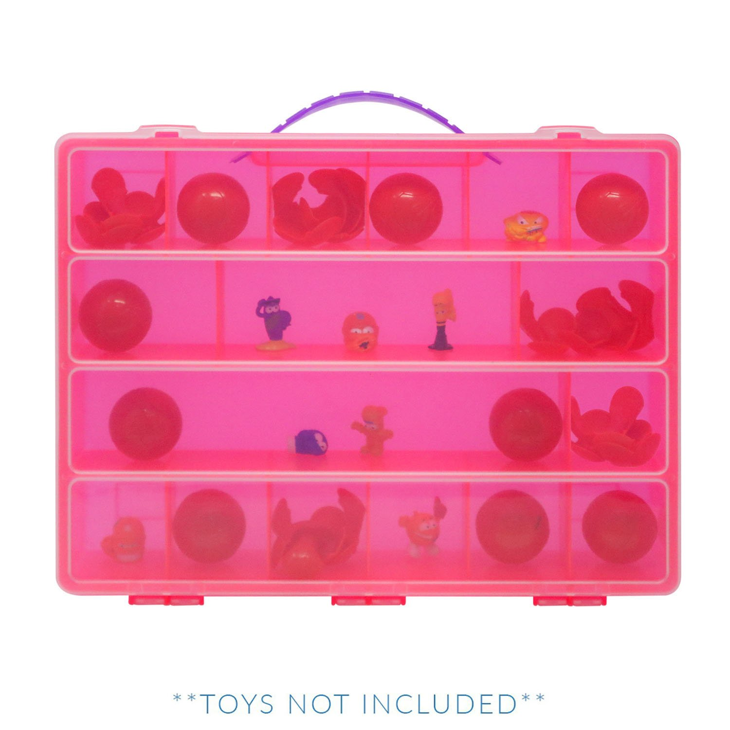 Octonauts Case, Toy Storage Carrying Box. Figures Playset Organizer. Accessories Kids LMB Life Made Better LMB71