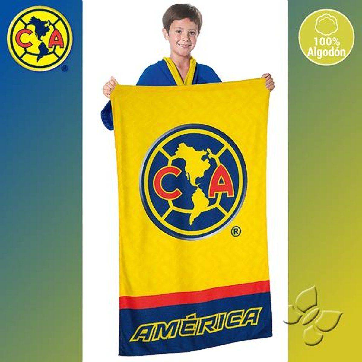 America Club Soccet Team Aguilar Towel Sports Gift Futbol Toalla: Home & Kitchen