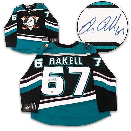 online retailer 0bb1b c03f0 Signed Rickard Rakell Jersey - Mighty Fanatics - Autographed ...