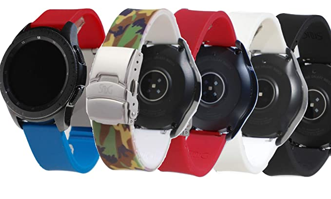 Amazon.com: Ultimate Galaxy Watch SnuG - Correa de repuesto ...