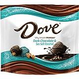 Dove Promises Sea Salt and Caramel Dark Chocolate Candy Bag, 7.61 Oz