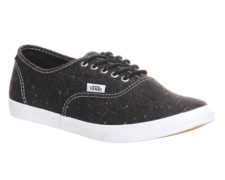 Vans Authentic B00L5LQUW0 6 B(M) US|Speckle Linen - Black
