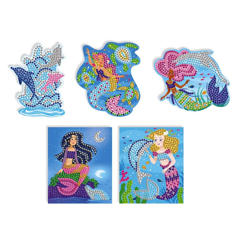 Mosaico dise/ño de delfines y sirenas Janod J07902