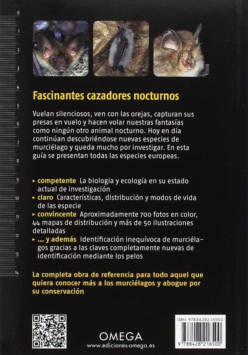 Murciélagos de Europa. Nueva generación GUIAS DEL NATURALISTA: Amazon.es: Dietz, Christian, Kiefer, Andreas, Insua Ayuso, Estela: Libros