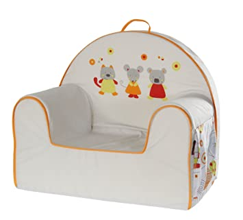 Candide Baby Toddler Cushioned Arm Chair  sc 1 st  Amazon.com & Candide Baby Toddler Cushioned Arm Chair