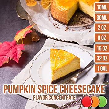 OOOFlavors Pumpkin Spice Cheesecake Flavored Liquid Concentrate (2 oz)